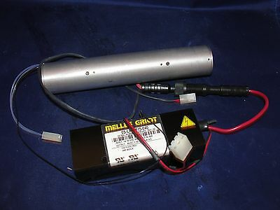 Melles Griot 05-lpm-815-040 Laser Power Supply And Laser