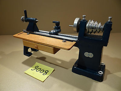 Antriebsmodell  EKT E.K.T Drehbank mit Prismenbett Nr. 12 / Dampfmaschine