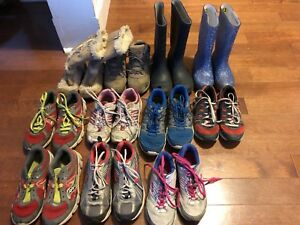 Kids' sneakers and boots