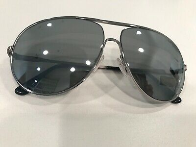 Tom Ford Aviator Sunglasses TF450 Cliff 14C Ruthenium/Black 61mm FT0450