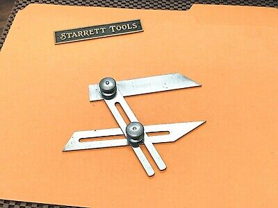 L.s. Starrett No. 49 Combination Bevel With 30 45 And 60 Degree Angles. Usa.