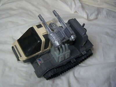 Vintage G I Joe USA High Explosive Ordnance Vehicle plastic tracked vehicle