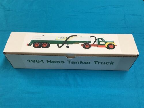 1964 Hess Tanker Truck Box with funnel Insert  TRUCK NOT INCLUDED