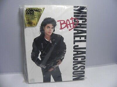 Michael Jackson BAD Japan Tour Only Limited Edition 1st Press Box Set SEALED NEW