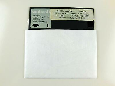 Atari 400 / 800 Computer HELLCAT ACE Disk by MicroProse