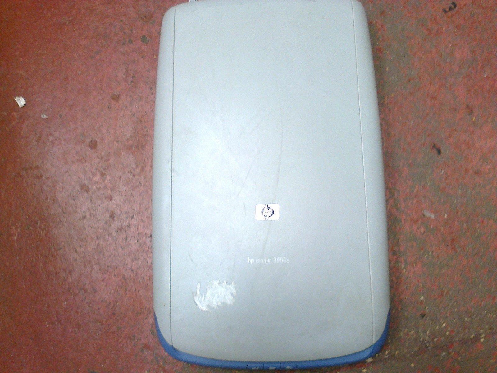 Hp Scanjet 3500c Flatbed Scanner Ebay Plustek Opticslim 1180