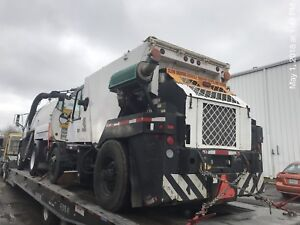 2009 Johnston mechanical street sweeper