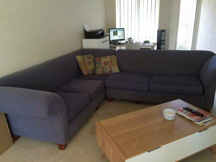 Lounge 3 seater + 2 seater corner Merrimac Gold Coast City Preview
