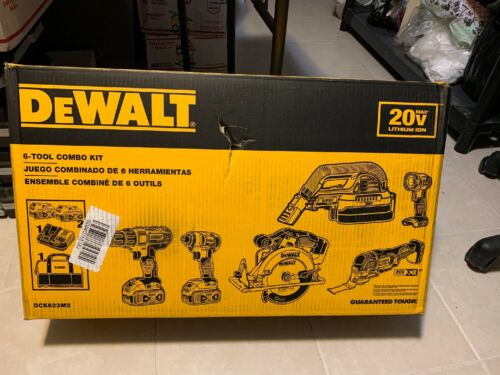 New Dewalt 20V XR Max 6-Tool Combo Kit w/ Free Shipping