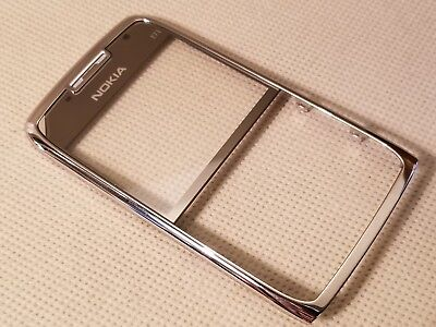 New Nokia OEM Front Metal Faceplate Lens Housing for E71 E71X - GREY Oem Nokia Faceplate