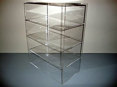 Acrylic Lucite Countertop Display Case Showcase Box Cabinet 12 X 8 X 16