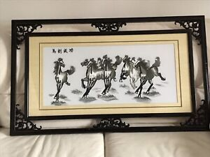 Framed pictures,exercise sets & patio table & chairs