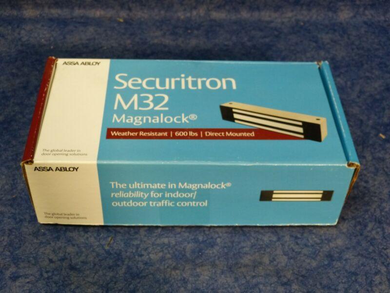 Assa Abloy Securitron M32 600LB Weather Resistant Direct Mount Magnalock