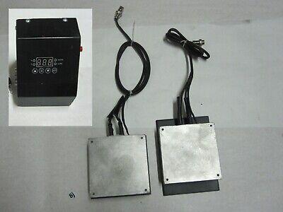 Digital Temperature Controller Aluminum Dual Hot Plates 4-34 X 4.75 Heater