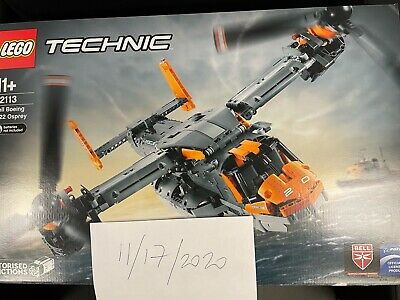 LEGO Technic 42113 Bell Boeing V-22 Osprey - Rare Set, New and Sealed In Hand