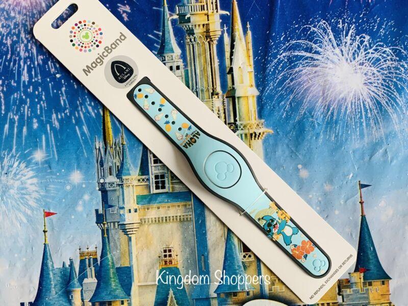 2021 Disney Parks Aulani Resort Unlinked Stitch Magicband Unlinked New