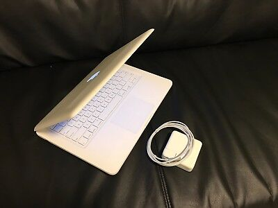 "Apple MacBook White 13"" A1342 250GB HDD, 4GB Ram, New OS X  High Sierra & Office"