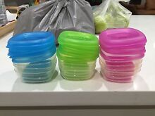 Heinz Baby Basics Freezer Pots - Used Baby Food Container Heathcote Sutherland Area Preview