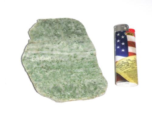 "Washington Grossular Garnet (Hydrogrossular Jade/Transvaal Jade) 1/4"" Slab"