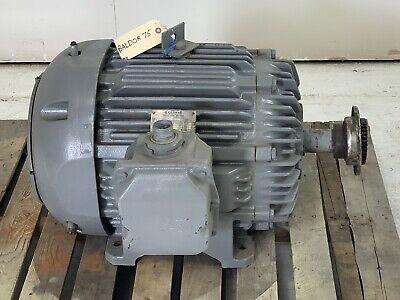 Baldor Induction Motor 75hp 460v 1770 Rpm Phase 3 365t 60 Hz Allis-chalmers