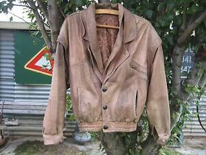 VINTAGE GENNY LEATHER JACKET VEST. MADE IN ITALY Prospect Prospect Area Preview