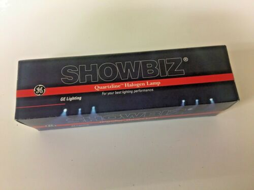 GE Showbiz Quartzline Halogen Lamp 120V 2000W 88610
