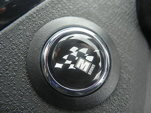 M-Sport Start Button Gel Badge – Ford Fiesta Focus Mondeo Kuga C-Max S-Max RS ST