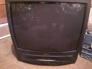 "26"" Sansui TV with built in VCR"