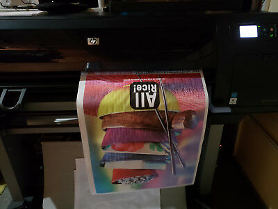 Hp Designjet Z6200 Photo 42 Wide Format Plotter Reduced Price - Was 4500