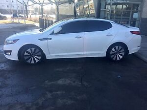 2013 kia optima sx  turbo charged engine