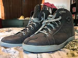"""Stylemartin """"Chester"""" Motorcyle Boot size US 10 BARELY USED North Melbourne Melbourne City Preview"""