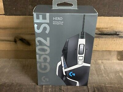 Logitech Hero G502SE Wired Gaming Mouse w 11 Programmable Buttons NEW