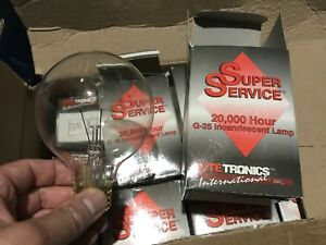 25G25 Very Long Life Globe Incandescent lamp 25watts