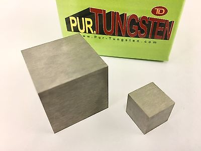 """1/2"""" Tungsten Cube 