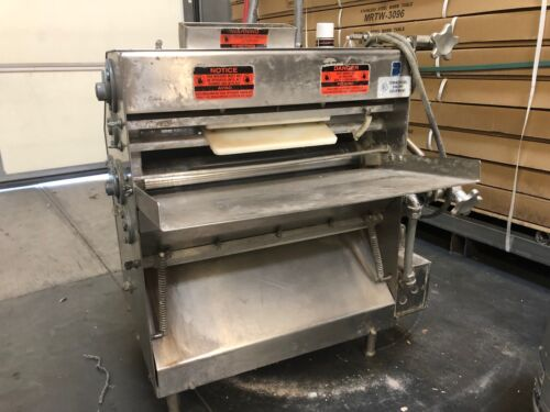 Acme Bench Commercial Pizza/ Dough Sheeter/ Roller Stainless Steel