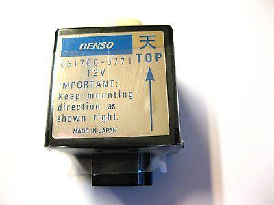 12V Zeitrelais Denso 061700-3770 061700-3771 Kubota Relais Stopmagnet Solenoid