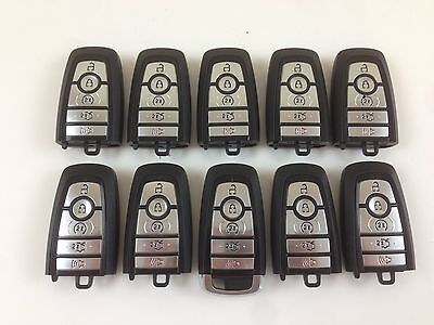 LOT OF 10 FORD FUSION 2017 REMOTE SMART KEY LESS ENTRY 5-BUTTON USA ALARM OEM