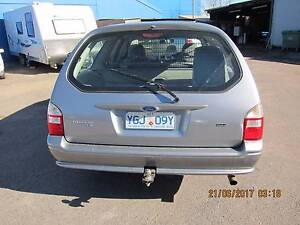 2005 Ford BA Falcon Wagon MKII XT 4SP AUTO 4.0L Fyshwick South Canberra Preview