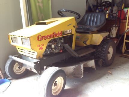 Ride on mower - Greenfield E2000 Leopold Geelong City Preview