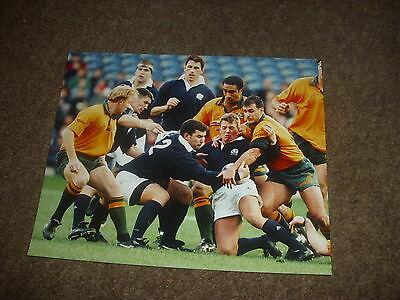 SCOTLAND v AUSTRALIA  Murrayfield Rugby Union 09/11/96  Original PRESS Photo