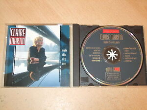 Claire-Martin-Make-This-City-Ours-CD-11-Tracks-Nr-Mint-Fast-Postage