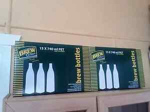 30x 740ml PET Home Brew Beer Bottles Thornlands Redland Area Preview