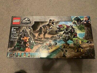 Lego Jurassic World 75938 T. Rex vs Dino-Mech Battle Brand New In Sealed Box 8+