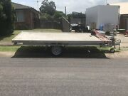 2t rated flat bed trailer first reg Jan 2019 /11 months rego 14x8 Mayfield West Newcastle Area Preview