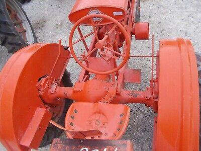 Unstyled Allis Chalmers Wc Tractor Fenders Nice Repainted Set Pair W Tool Box