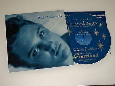 Elvis Presley  Blue Christmas 1998 Cd   Graceland Fan Club President  Promo