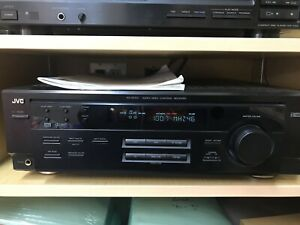 JVC receiver & 5 disc changer