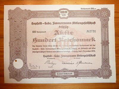 D: Hupfeld-Gebr. Zimmermann, Leipzig, 1935, 100 RM, PIANOS*