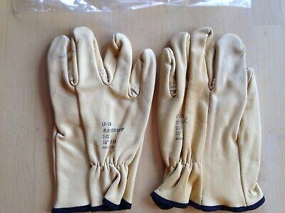 Salisbury Leather Gloves Size 9 Lp-10