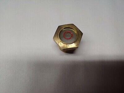 Brass Oil Sight Glass 1 Mpt Rotary Screw Air Compressor